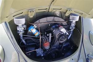 Clean Vw Beetle Engine