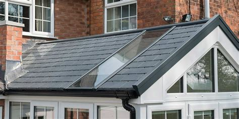 gable conservatory  ultraroof  clearview