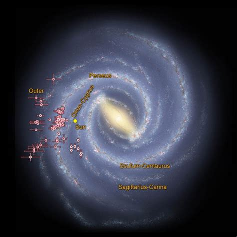New Map Confirms Milky Way Arms Space Earthsky