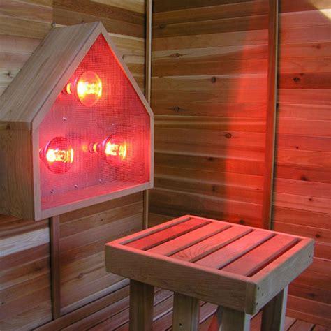 replacement bulbs infrared sauna light box emits near