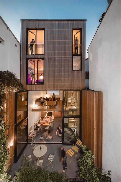 Narrow Skinny Houses Casas Archdaily Estrechas Estreitas