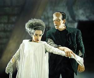Rare Color Photo, Bride of Frankenstein, 1935. Boris ...