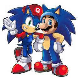 Super Mario and Sonic the Hedgehog