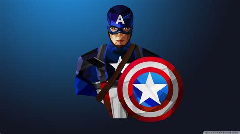 Captain America 4k Hd Desktop Wallpaper For • Wide & Ultra
