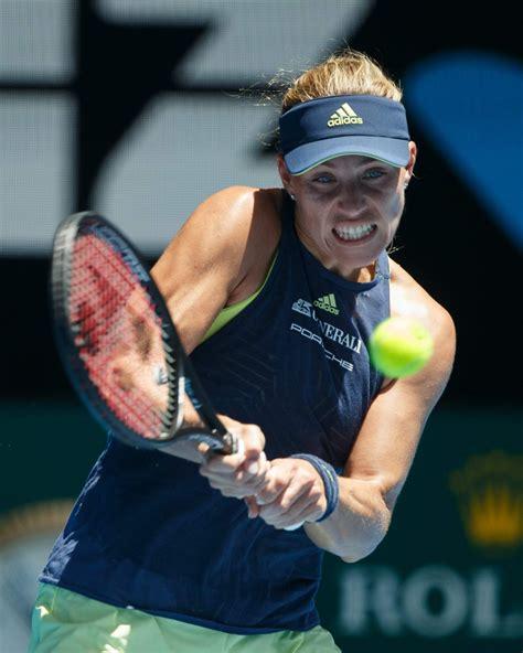 Angelique kerber is a german professional tennis player. ANGELIQUE KERBER at Australian Open Tennis Tournament in ...