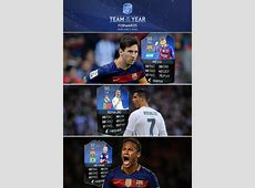 FIFA 16 TOTY Team of the Year Forwards are NOW IN PACKS