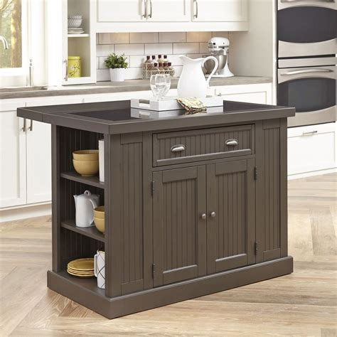 kitchen island storage table small kitchen island table work station with drop leaf