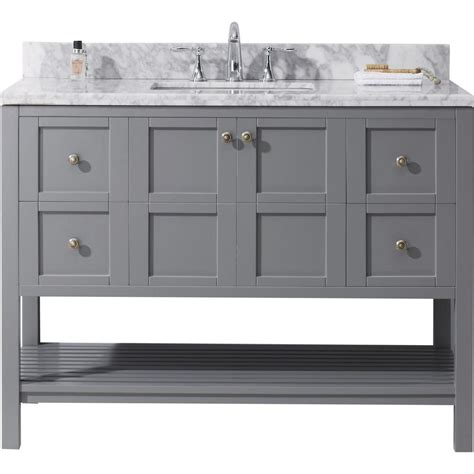 virtu usa winterfell    bath vanity  gray
