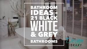 Bathroom Ideas: Black, White and Grey Bathrooms