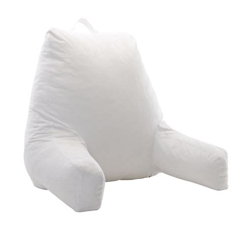 shredded memory foam pillow cheer collection shredded memory foam reading pillow tv