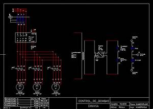 Contro Of Head Pressure Pump En Autocad