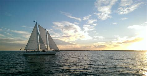 Sail Boat Tours by Sailing Cruises In Annapolis Maryland On The Schooner