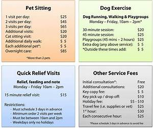 Rates capek9cardio cape cod pet sitting dog walking for Dog sitting rates in home