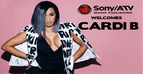 Cardi B Signs Publishing Deal With Sony/ATV | Welcome To ...