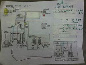 Rad Ventures  Xs650 Wiring