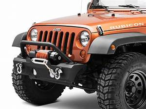 Redrock 4x4 Jeep Wrangler Attack Stubby Front Bumper W