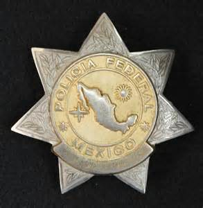 Mexican Federal Police Badge