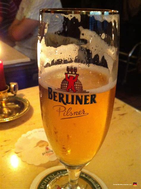 Berlin Germany Berliner Pilsner Beer God Wife