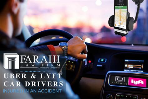Personal Injury Claim For Uber Or Lyft Drivers