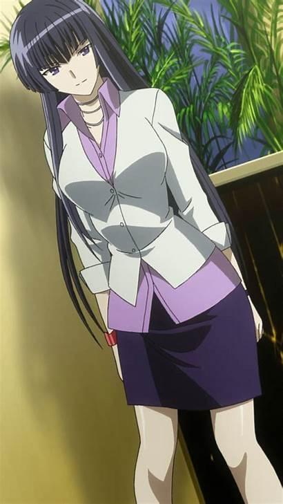 Shizuku Sangou Anime Less Character
