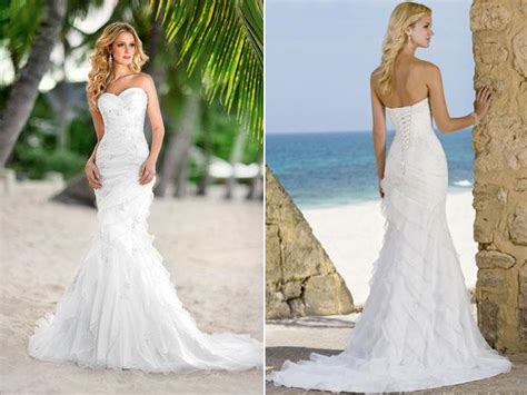 Wedding Dresses Mermaid : Your Mermaid Beach Wedding Dress Inspirations