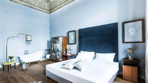 du bleu pour une chambre apaisante