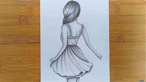 draw easy girl drawing  beginners step  step
