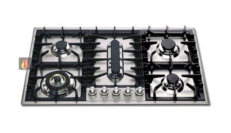 cuisine molteni plaque de cuisson gaz 90 cm inox encastrable 5 foyers