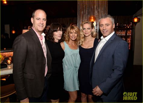 Matt Leblanc Joins 'episodes' Cast At Final Season Party