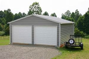 Garage buildings metal garage buildings steel garage for Aluminum garage buildings