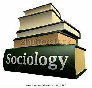 Education Books - Sociology Stock Photo 18180580 ...