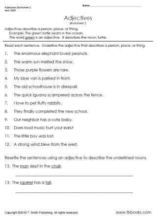 16 best images of form a sentence worksheets 2nd grade