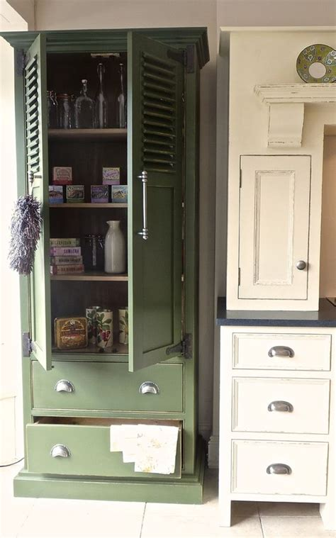 love this practical free standing kitchen pantry cupboard
