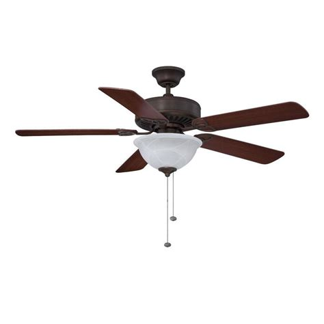 bronze ceiling fan light kit shop litex 52 in antique bronze downrod or flush mount