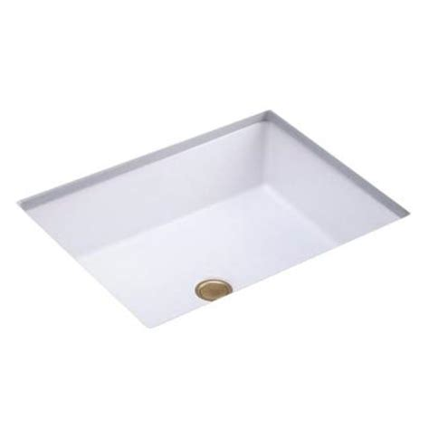 kohler verticyl rectangular undermount sink kohler verticyl rectangle undermount bathroom sink in