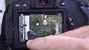 Canon T4i T5i 650d  700d Focus Lesson