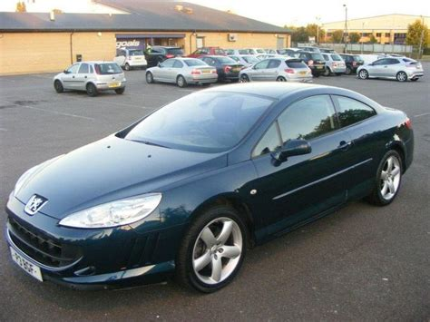 peugeot 407 price used peugeot 407 2007 petrol 3 0 v6 se 2dr coupe blue with