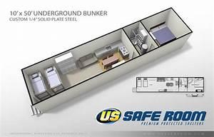 10' x 50' Underground Bunker