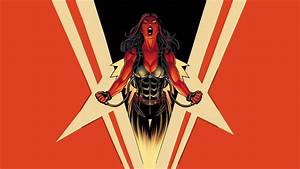 Marvel, Red, She