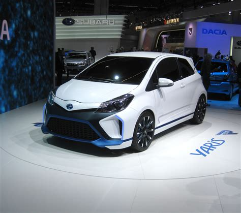 Toyota Of by Toyota Yaris Hybrid R Revealed Toyota