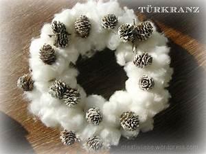 Türkranz Winter Modern : t rkranz f r den winter handmade kultur ~ Whattoseeinmadrid.com Haus und Dekorationen