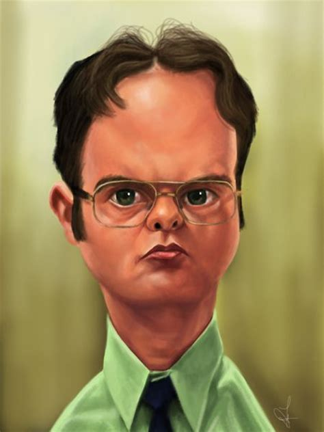The Office  Dwight Shrute  Caricatures  Pinterest The
