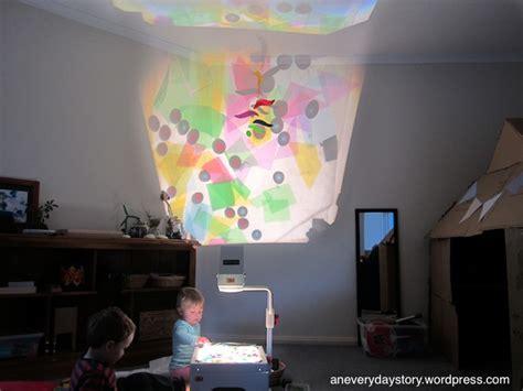 reggio emilia light table a colour and light collage exploring on the ohp reggio