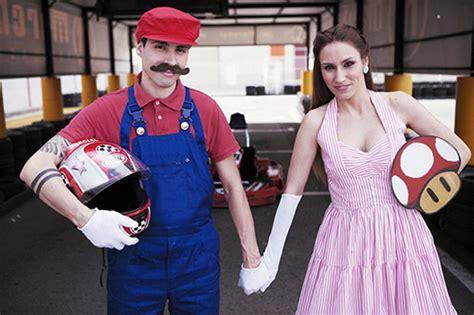 Geeky Wedding Photography Alert Super Mario Video Game