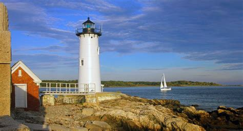 harbor lights lighthouses portsmouth harbor lighthouse new castle nh things to