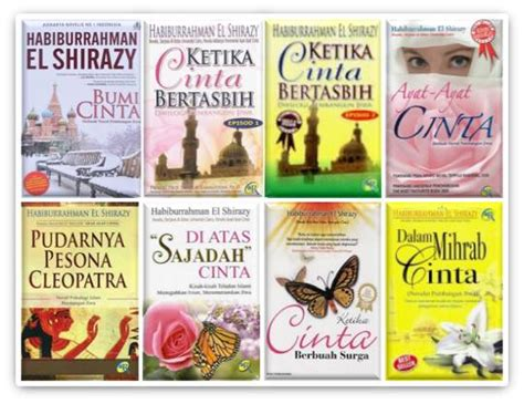 kumpulan novel cinta karya habiburrahman el shirazy