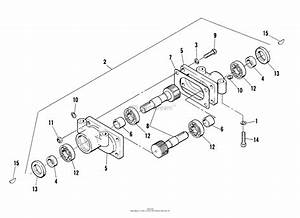 Bunton  Bobcat  Ryan 544874c Lawnaire 28 Parts Diagram For Reversing Gear Box