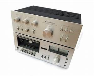Cassette Deck  Kenwood  Vintage