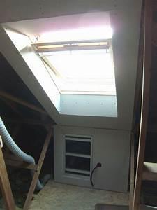 Couper Rail Placo : habillage velux en placo 2 me chambre ~ Melissatoandfro.com Idées de Décoration