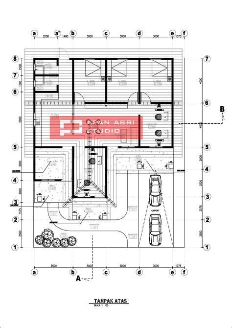 rencana renovasi rumah minimalis  lantai  luas